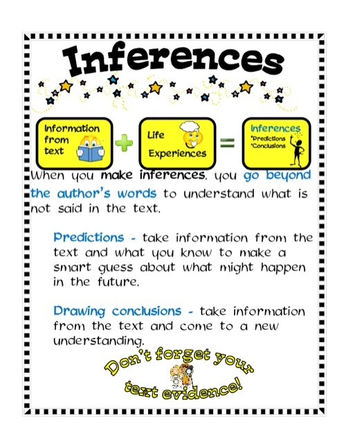 Rl 4.1 Inferencing Week 4 For Teacher - Lessons - Tes Teach