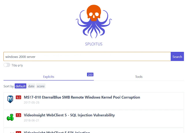 sploitus search engine