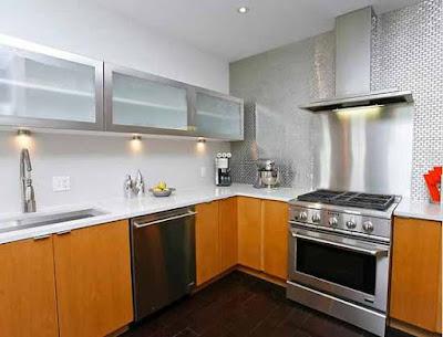 Desain lemari untuk interior dapur