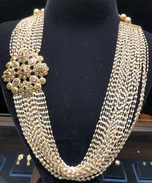 Rice Pearls Long Chain by Sukratej