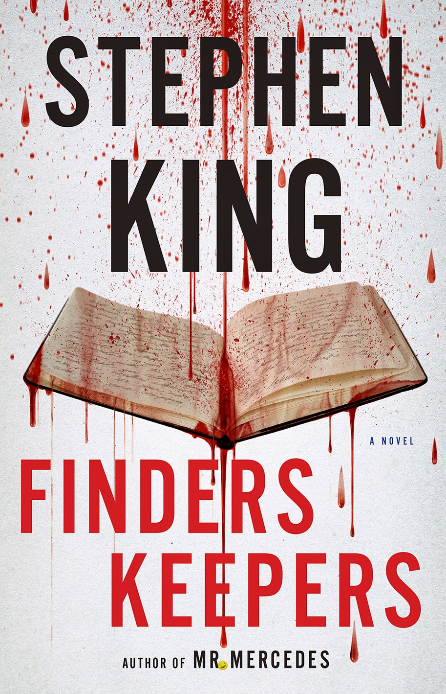 Finders Keepers by Stephen King US edition