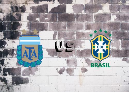 Argentina vs Brasil  Resumen y Partido Completo