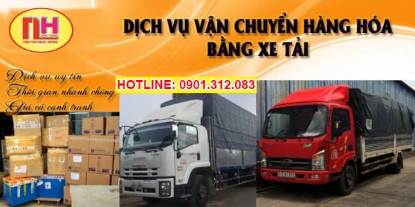 công ty vận chuyển hàng bằng xe tải giá rẻ