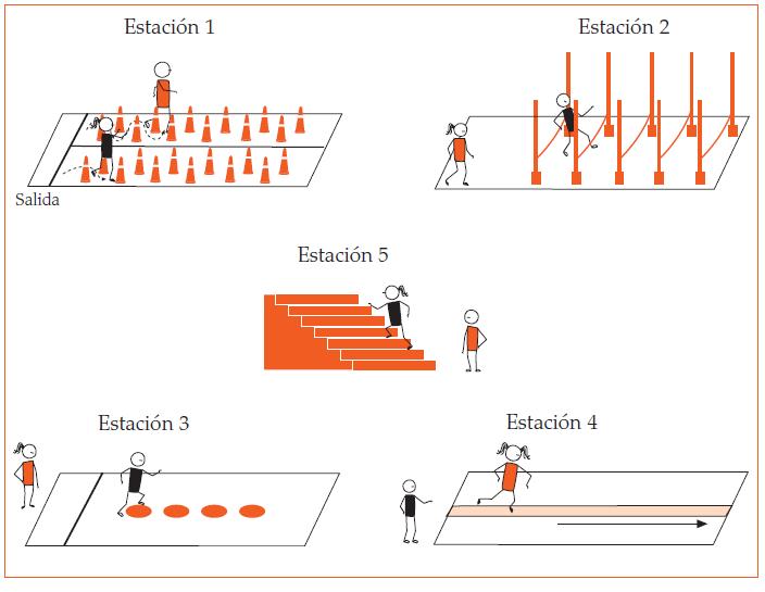 Circuito De Accion Motriz : EducaciÓn fisica abril