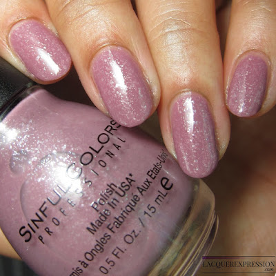 nail polish swatch of Desert Reign by Sinful Colors sinfulcolors