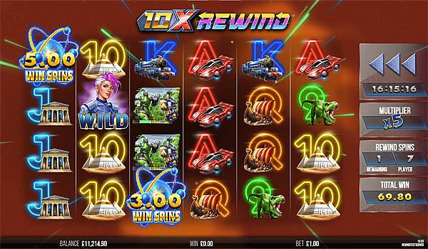 Main Gratis Slot Indonesia - 10x Rewind Yggdrasil