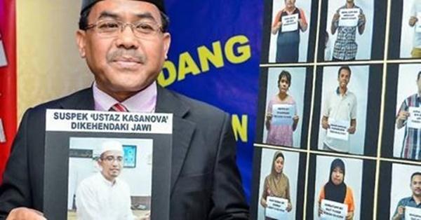 Ustaz Kasanova Nikah 13 Isteri Berjaya Diberkas... PADAN MUKA!