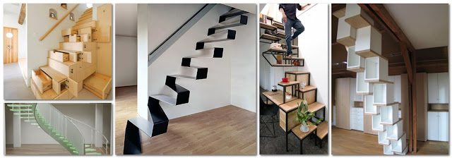Innovative Designs For Interior Stairs In Home Decorations