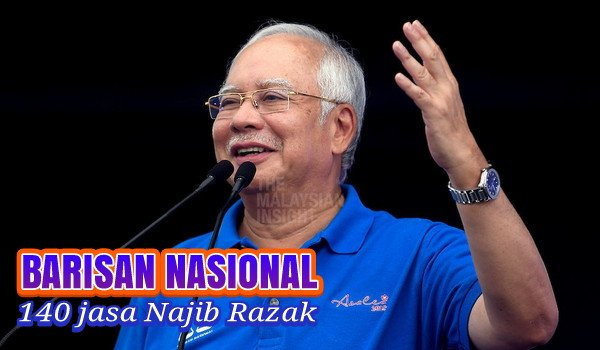 140 jasa Najib Razak