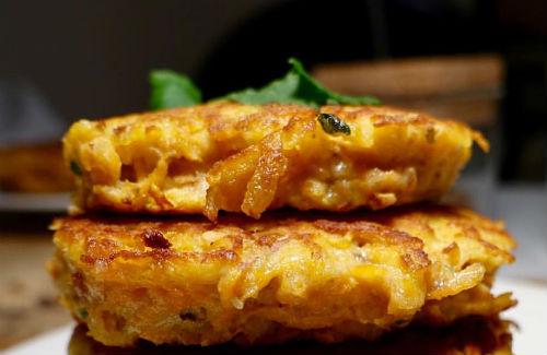 One Perfect Bite: Moosewood Sweet Potato Pancakes