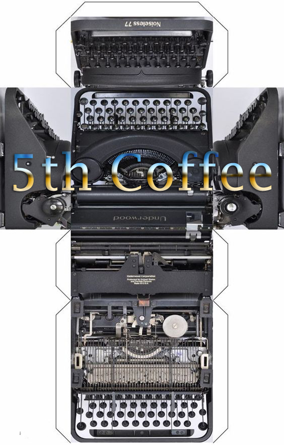 5th Coffee - A WRITER'S BLOG