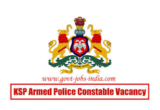 How to Apply KSP Armed Police Constable Vacancy 2020