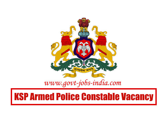 How to Apply KSP Armed Police Constable Vacancy 2020 – 1449 Armed Police Constable Vacancy – Last Date 22 June 2020
