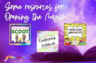 Reading Resources to Open the Magic