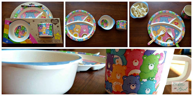 Vandor Carebears Bamboo Mealtime Set
