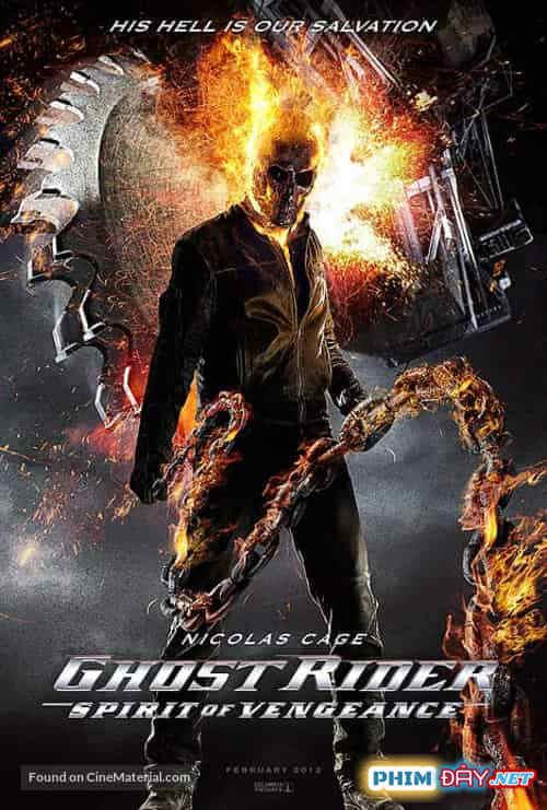 Ma Tốc Độ 2 Linh Hồn Báo Thù - Ghost Rider Spirit of Vengeance (2011)
