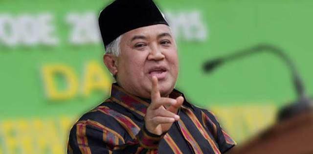Din Syamsuddin: Terima Kasih, Isi Pidato Jokowi Sejalan Dengan Gugatan Kami