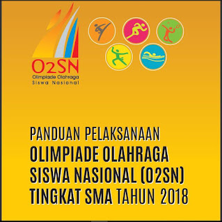 Download Panduan Pelaksanaan O2SN SMA Tahun 2018