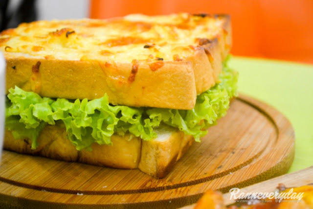 Carmi's Chicken Sandwich at Beans and Blossoms Cafe Malolos