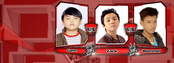 Rommel vs Zack vs Gem Team Bamboo Battles on 'The Voice Kids' Philippines