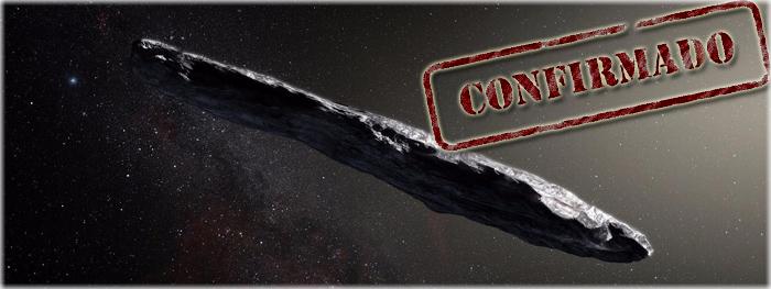 oumuamua - objeto de outro sistema estelar confirmado
