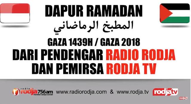 dapur ramadhan rodja gaza palestina