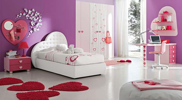 interior design ideas for teenage girl bedroom