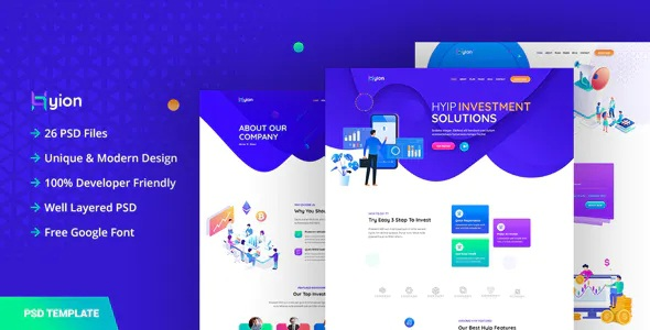 Best Investment UI Template