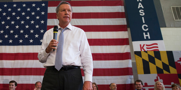 Ohio Governor John Kasich exiting the presidential race, leaving Donald Trump as presumptive nominee