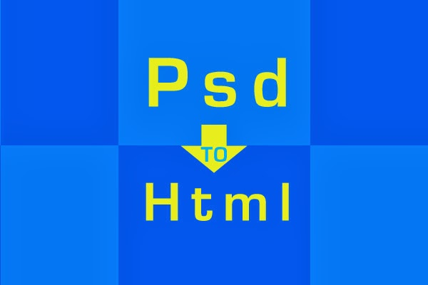 slicing PSD to HTML