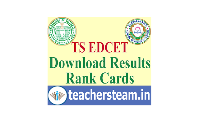 Download TS EDCET Results Rank Cards