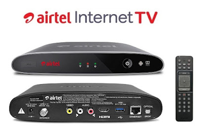 Airtel Digital TV launched Internet TV set-top box