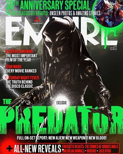 latest update of the predator movie synopsis and official trailer 2018