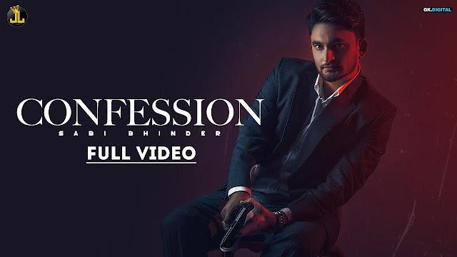 New Punjabi Song Confession