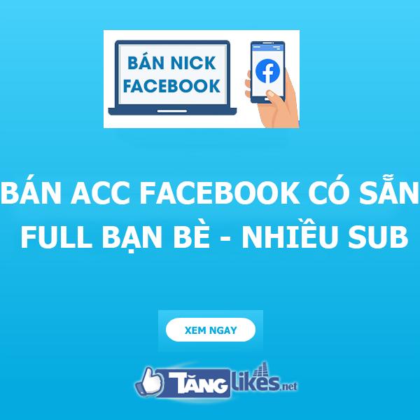ban acc facebook