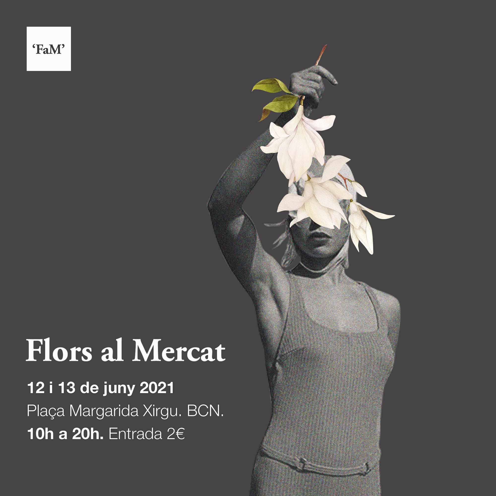 Intercambio de plantas y esquejes en Flors al Mercat