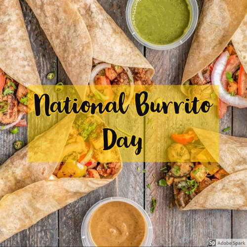 National Burrito Day Wishes Lovely Pics