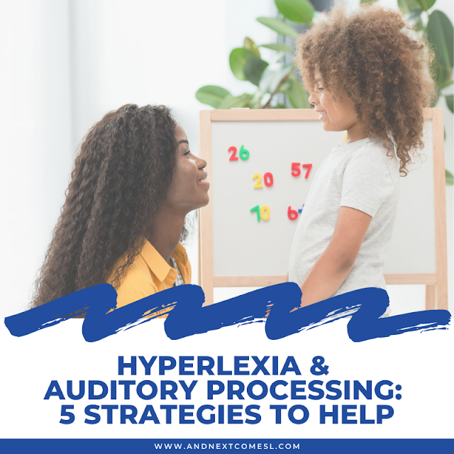 "Hyperlexia & auditory processing: why the hyperlexic child says ""I don't know"" a lot"