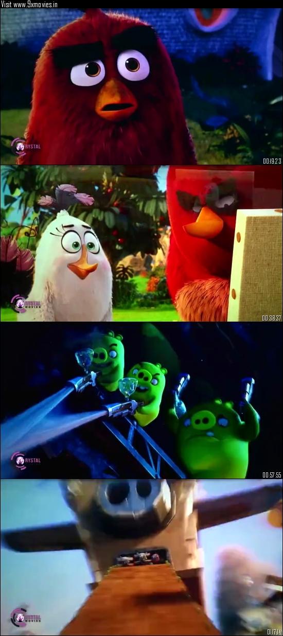 The Angry Birds Movie 2016 Dual Audio Hindi 480p HDTC