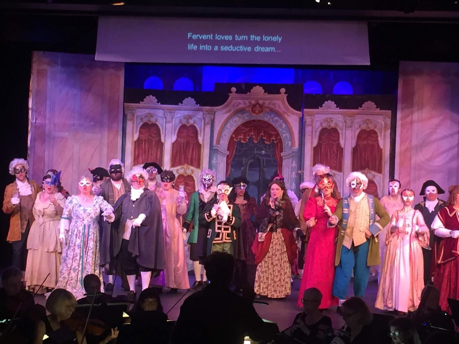 Opera In Park Saturday Night Barcarolle >> Voce Di Meche Having A Ball
