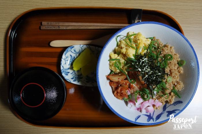 Petit-déjeuner, ryokan Tadaima, Yufuin