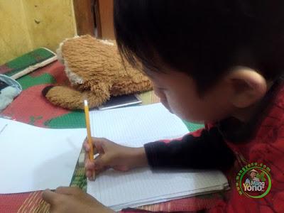 FOTO GIGIN Belajar Dari Rumah TVRI SD Kelas 1,   Rabu 13 Mei 2020