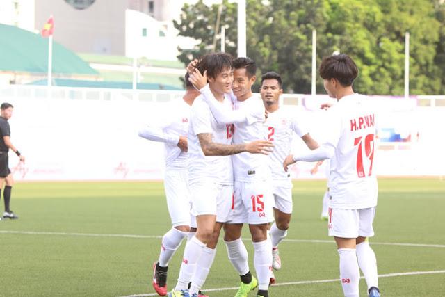 Video U22 Myanmar 2-1 U22 Campuchia: Đôi công hấp dẫn, bi kịch cay đắng