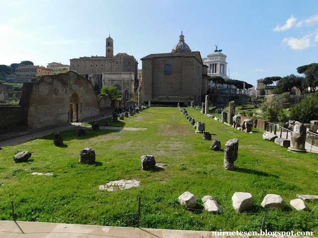 Римский Форум - Базилика Эмилия