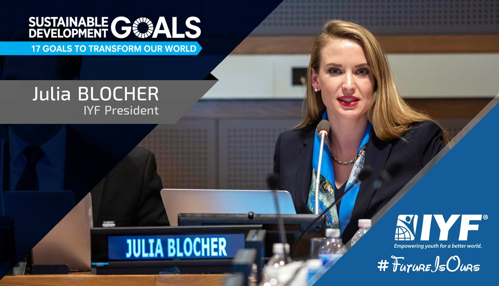 Julia BLOCHER, IYF President
