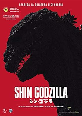 Shin Gojira 2016 DVD R1 NTSC Sub