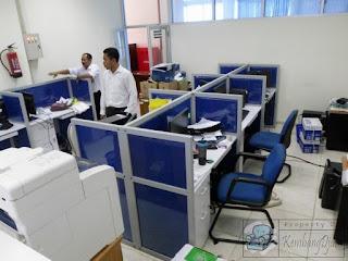 Furniture Meja Partisi 3 x 2 ( Furniture Semarang )
