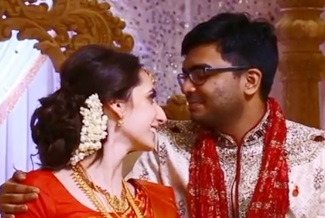 Tamil Hindu Wedding – Kishan & Sasha Oshwal centre London