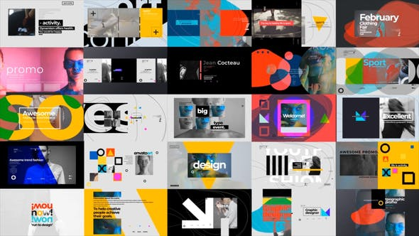 Download Videohive Typographic Promo 25422714