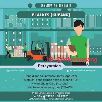 Lowongan Kerja Enseval Putera Megatrading Sebagai PJ Alkes (Kupang)